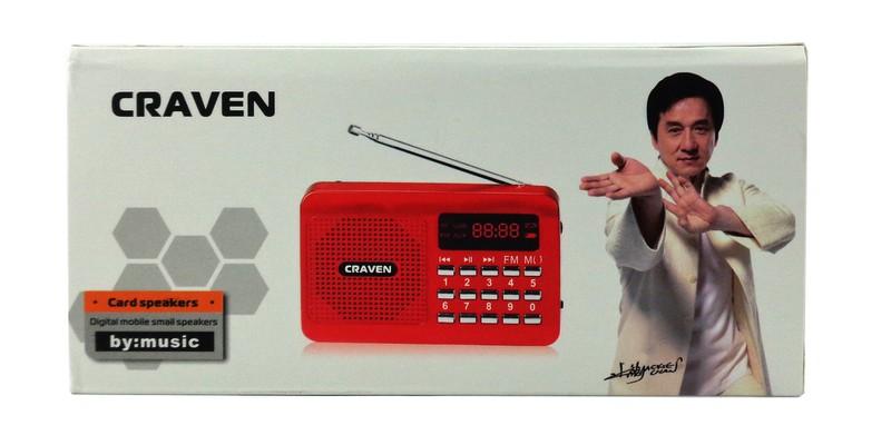 Loa nghe nhạc USB, thẻ nhớ Craven CR-16 3