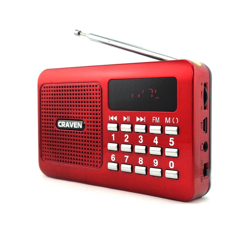Loa nghe nhạc USB, thẻ nhớ Craven CR-16 2