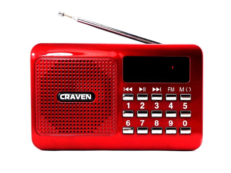 Loa nghe nhạc USB, thẻ nhớ Craven CR-16 1