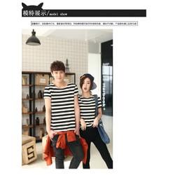 shop cún - hàng hót - áo cặp nam nữ sọc lớn cực style