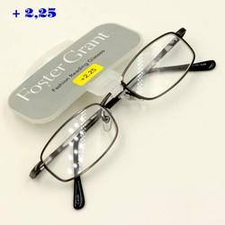 Mắt kính viễn Mỹ 2.25 độ MS-20460 xám đen