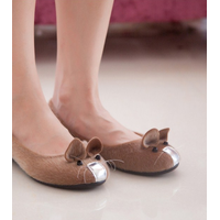 Giày búp bê hình chuột đáng yêu, ngộ nghĩnh