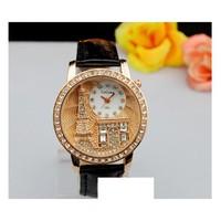 Đồng hồ Nữ GoGoey D0101-DHA033 - Kim Quay - Đen