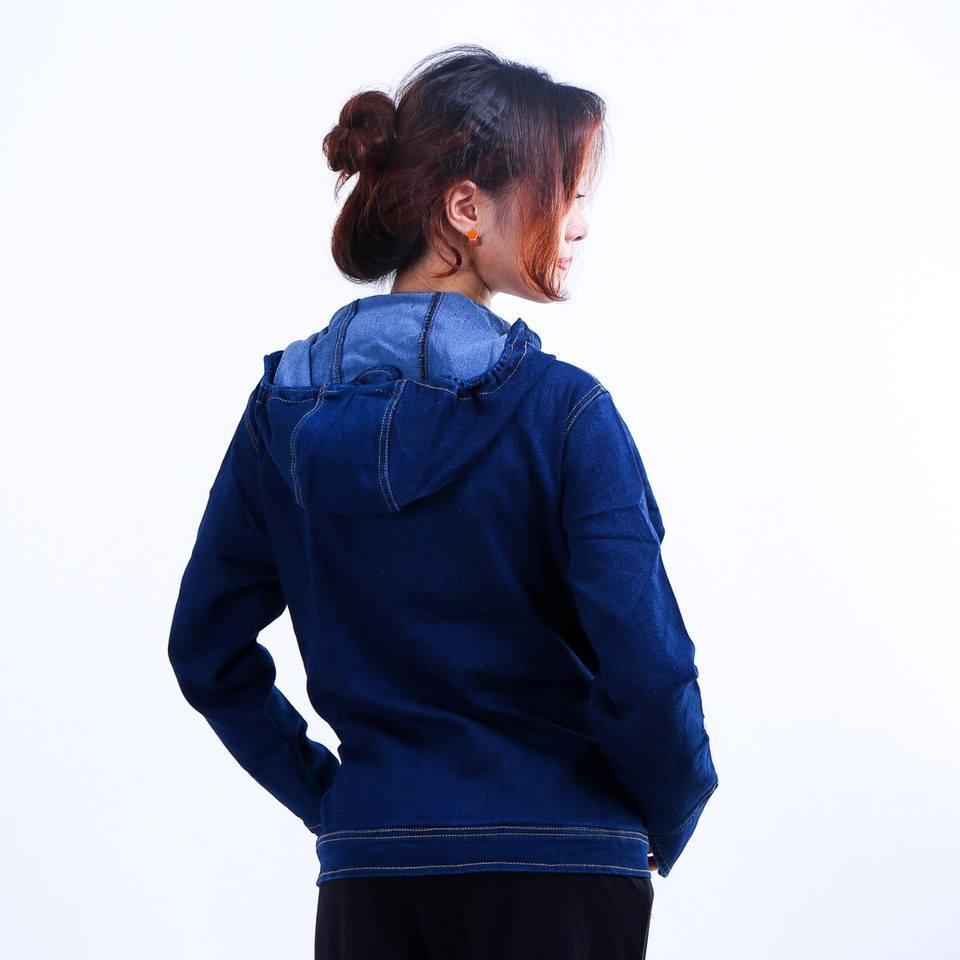 Áo chống nắng vải bò dày dặn thách thức nắng hè 2015
