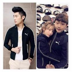 áo khoác cặp 29 đen viền trắng