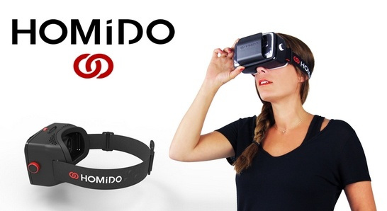 kinh thuc te ao homido 1m4G3 76e466 1 số lưu ý xung quanh loại kính thực tế ảo