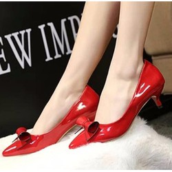 Koin - Giày cao gót nơ cuộn CG70 - bảo hành 12 tháng