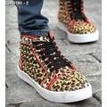 Giày sneaker nạm đinh da beo Mã: GH0190 - 2