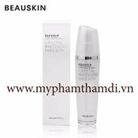 Sữa Dưỡng Ẩm Trắng Da Beauskin Crystal Whitening Emulsion 120ml