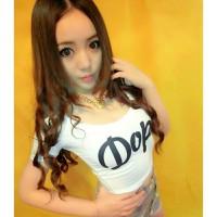 áo thun crop top dope Mã: AX2384 - TRẮNG