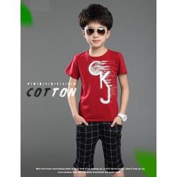 Set áo và quần bé trai cao cấp nhập khẩu V061