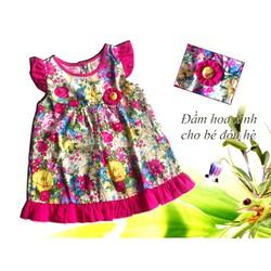 Sale off - Đầm hoa cho bé xinh tươi ngày hè NB26