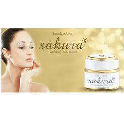 Kem dưỡng trắng da chống lão hóa Sakura Crystal Whitening Cream