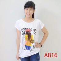 Áo thun nữ form rộng kute AB16