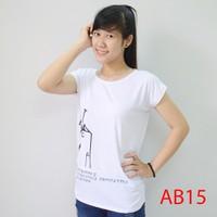 Áo thun nữ form rộng đơn giản AB15