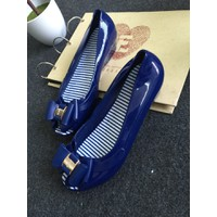 Giày búp bê nhựa hỡ mũi BB34