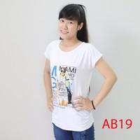 Áo thun nữ form rộng trẻ trung AB19