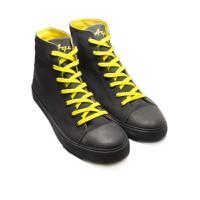 Giày vải Aqua nam, kiểu dáng cổ cao sành điệu, đế cao su thiên nhiên