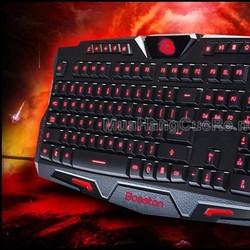 Bàn phím chơi game Bosston - Led 3 màu cực ngầu