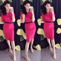 Hàng cao cấp: Đầm Ôm Body Màu Phong Cách