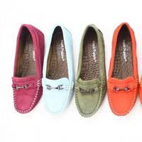 giày mọi nữ da cao cấp