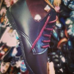 Giay boot cổ thấp đế bằng xinh xắn - HTK009