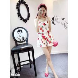 Set bộ áo quần hoa hồng - 8698 - Hàng Nhập
