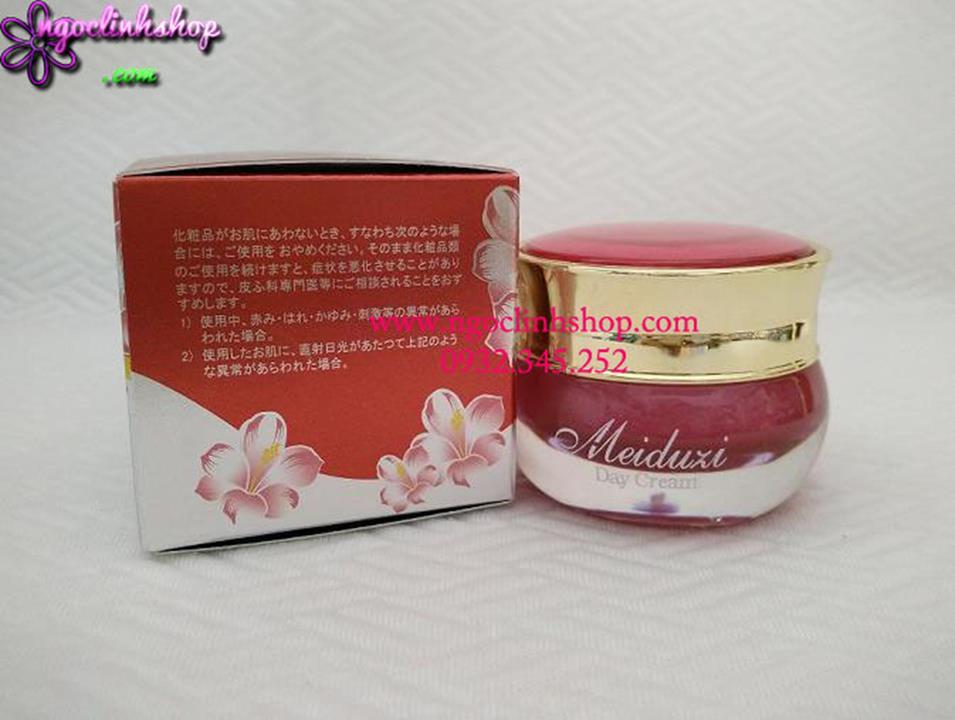 Kem dưỡng trắng, ngăn ngừa và trị nám, tàn nhang Meiduzi Day Cream