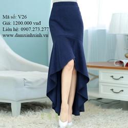 Chân váy dài quyến rũ