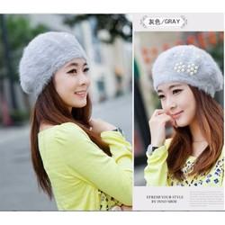 Nón bere thời trang thu đông Hàn Quốc L127