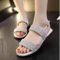 Hàng loại 1: Giày sandal đính đá cao cấp