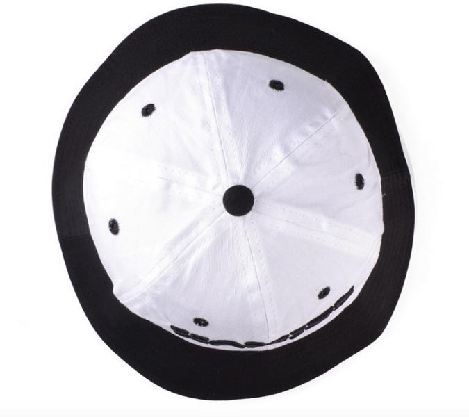 Nón Bucket Vải màu trắng M37-T 8