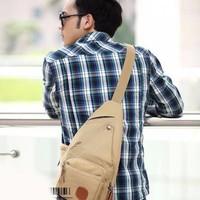 Túi đeo chéo, phối logo da thời trang