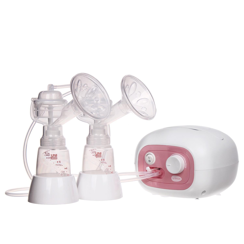 Máy hút sữa điện đôi Forte Unimom có maxa silicone UM880038 1