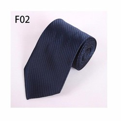 Cà vạt nam cao cấp xanh đậm, có sọc