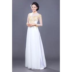 Áo dài cưới MS013s