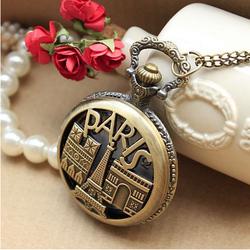 Đồng hồ quả quýt - đồng hồ bỏ túi Paris City