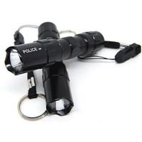 Đèn PIN siêu sáng-POLICE-thân nhôm-xài pin AA