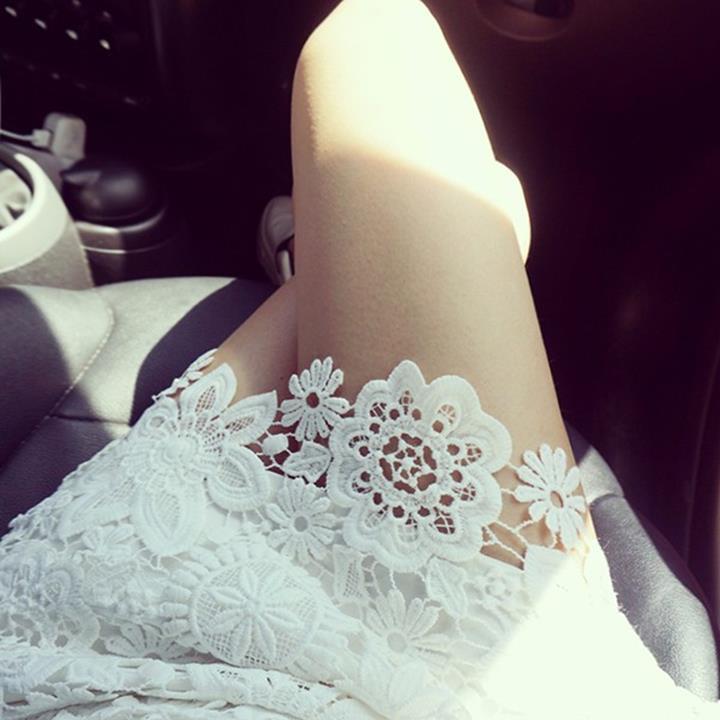 set áo chân váy ren 9