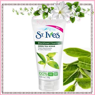 D A Green St Ives ... tế bào chết trà xanh St.ives Green Tea Scrub - St.ives Green Tea