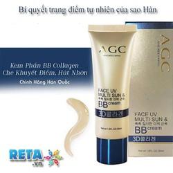 Kem BB Collagen AGC che khuyết điểm một cách hoàn hảo và tự nhiên