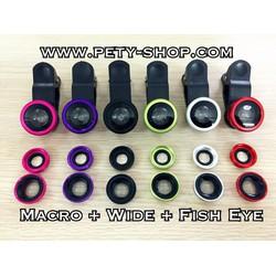 Lens chụp hình Macro Wide Fish eye