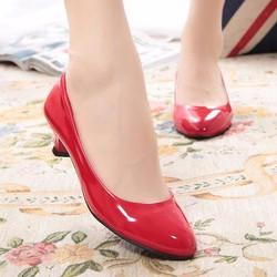 Giày mũi tròn màu sắc ngọt ngào - G008