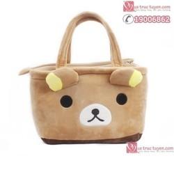 Túi đựng đồ hình gấu Rilakkuma