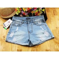 Quần Short Jean Nữ thời trang L121502