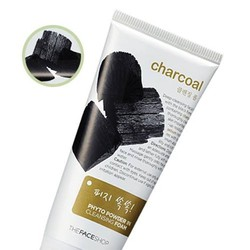 Sữa rửa mặt Charcoal Phyto power in cleansing foam - TFS
