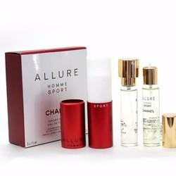 03 Chai Nước Hoa Chanel Allure Homme Sport