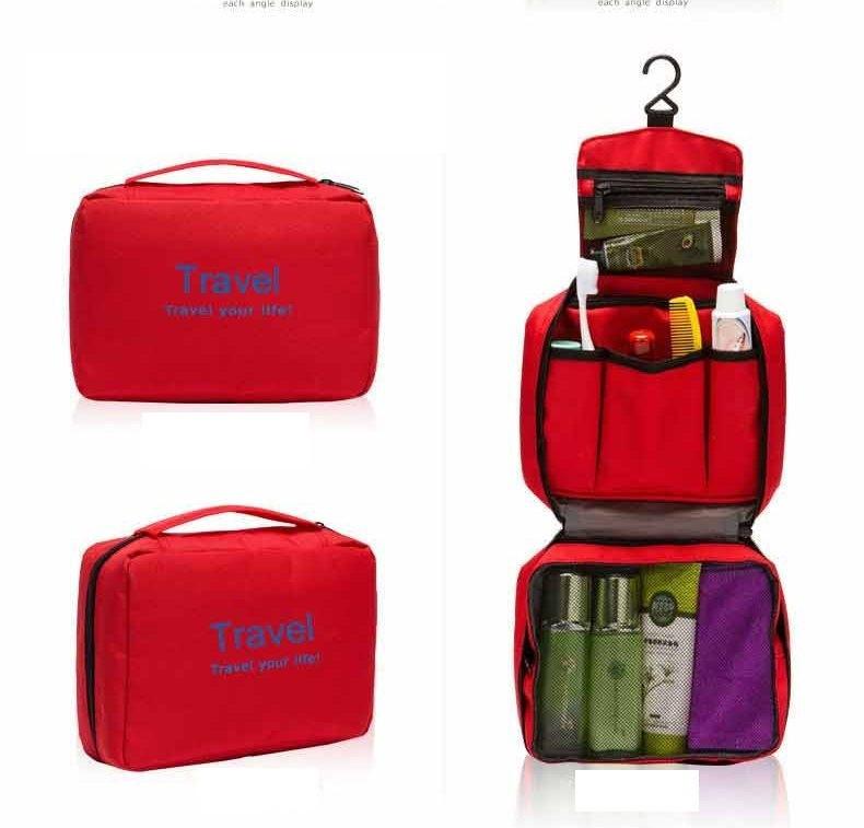 Túi Travel đựng mỹ phẩm du lịch treo được 3