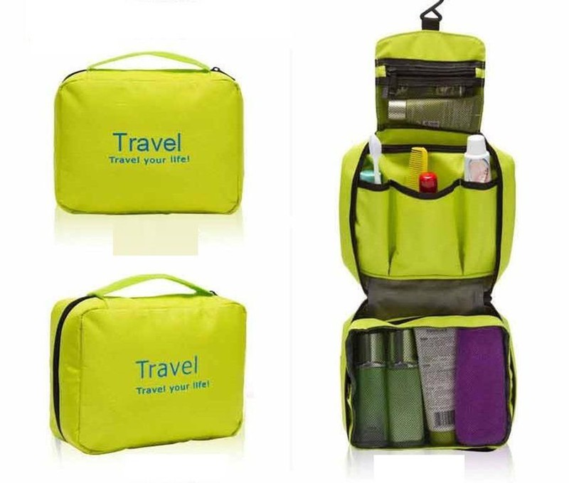 Túi Travel đựng mỹ phẩm du lịch treo được 2
