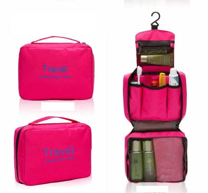 Túi Travel đựng mỹ phẩm du lịch treo được 4